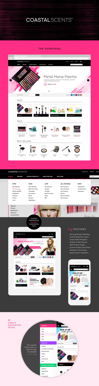 Coastal Scents Cosmetics Mk Design